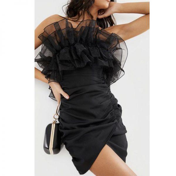 Sexy Bohemian Black Dress