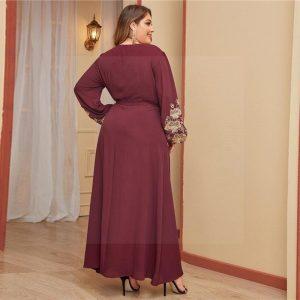 Summer long dress boheme big size