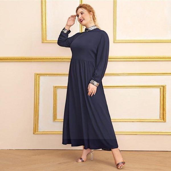Hippie maxi dress big size