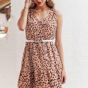 Bohemian chic teen dress