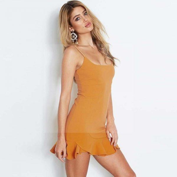 Bohemian chic colored dress