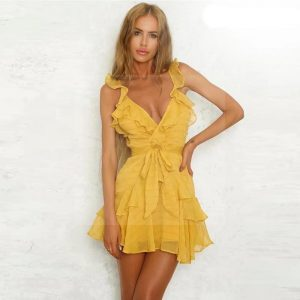 Bohemian chic color dress