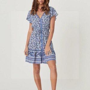Bohemian hippie dress