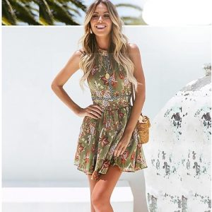 Hippie chic summer dress